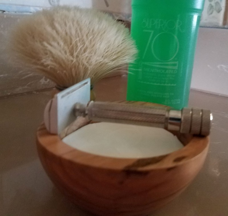 SOTD Salters soap boar brush 15July18.jpg