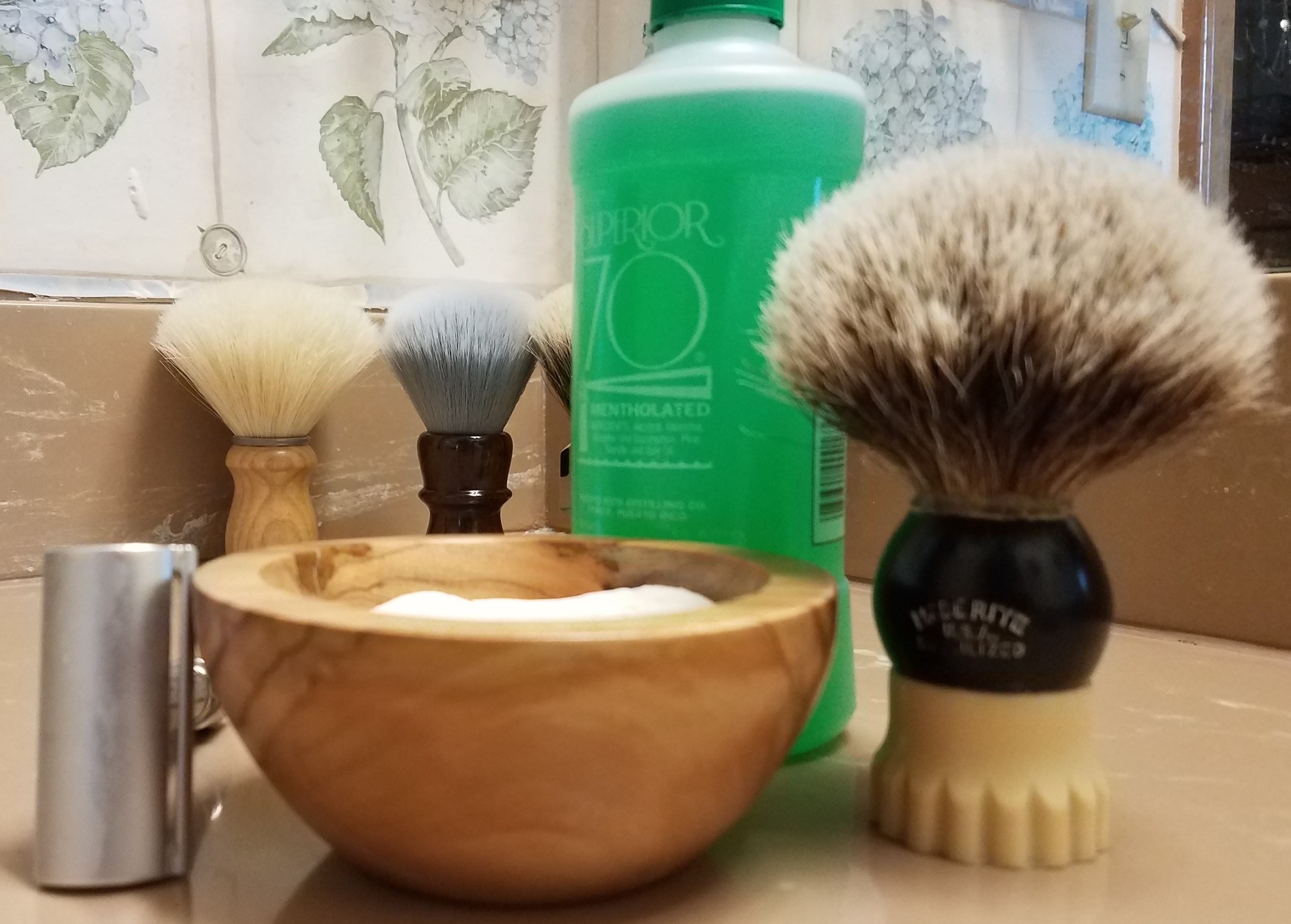 SOTD Salters soap Made Rite brush 17July2018.jpg