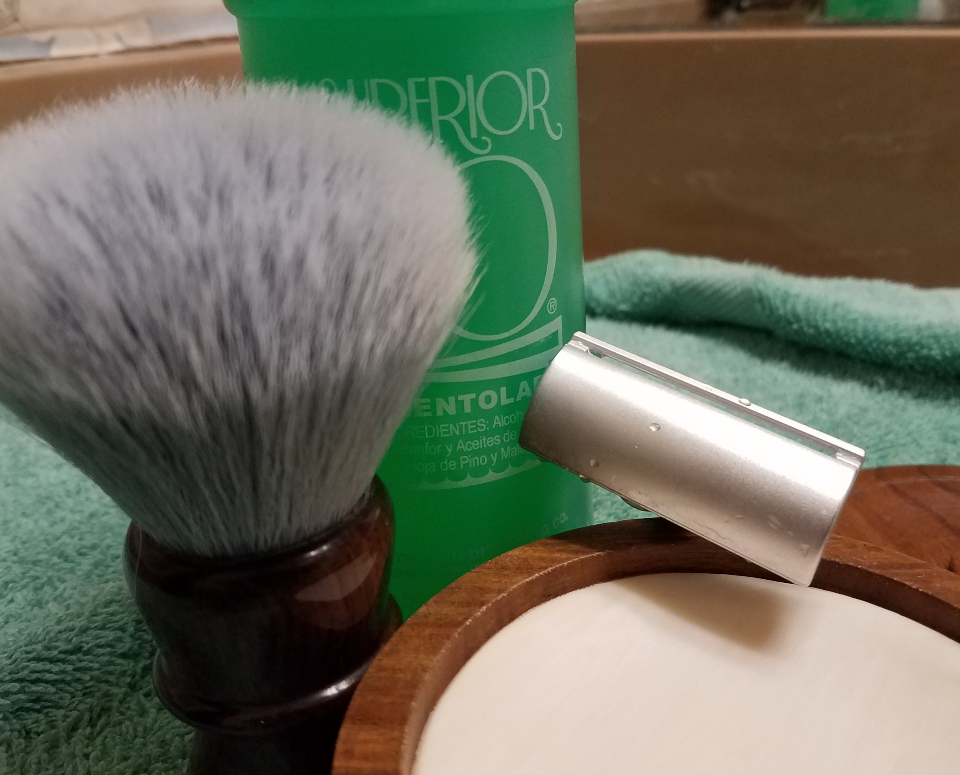 SOTD Taylor Sandalwood soap  15January19.jpg
