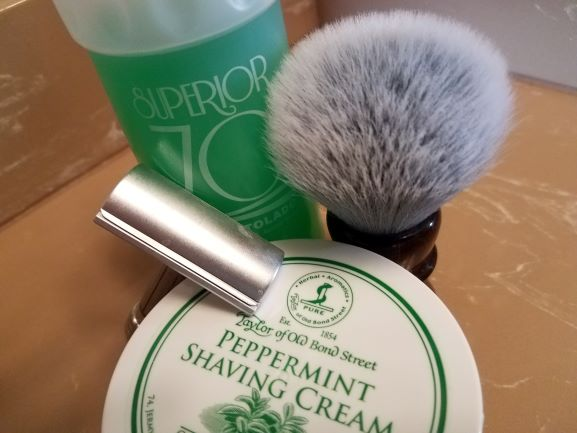 SOTD Taylor's Peppermint Cream 13Feb2019.jpg