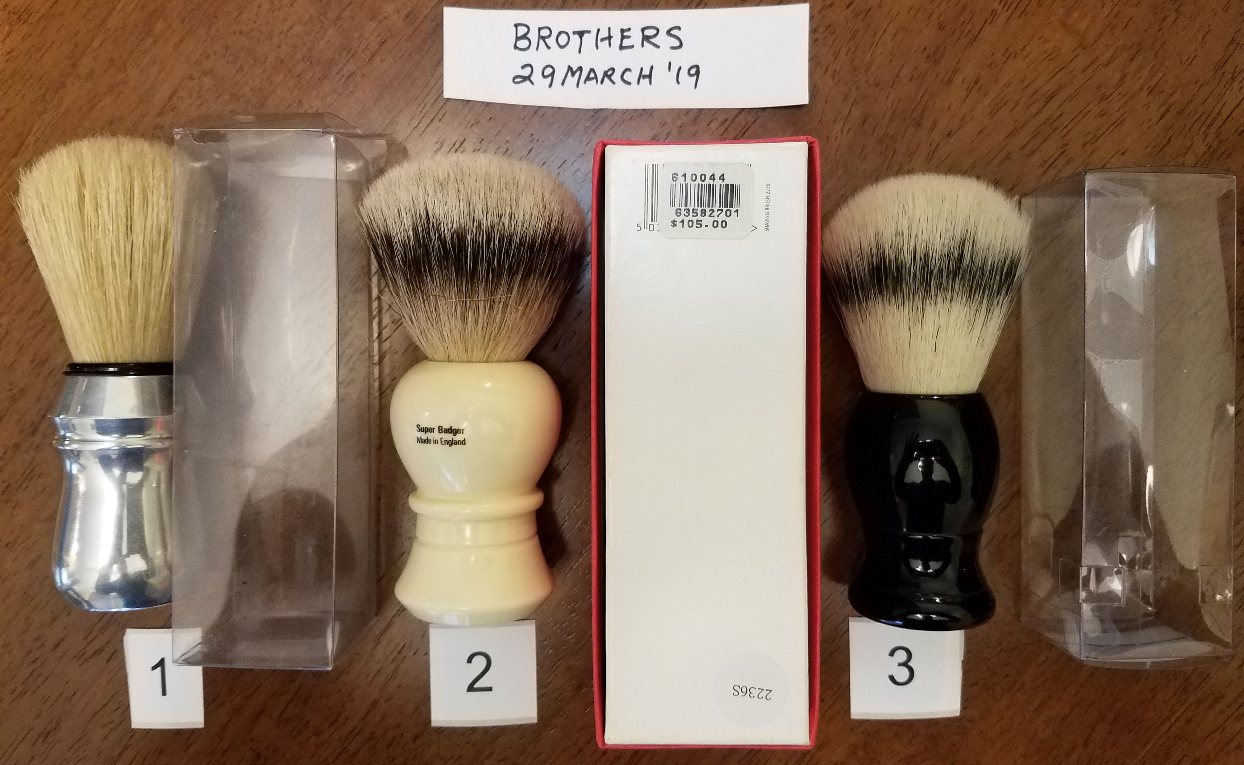 Selling 3 brushes 29March2019.jpg